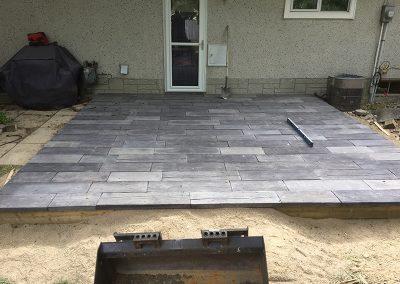 backdoor patio